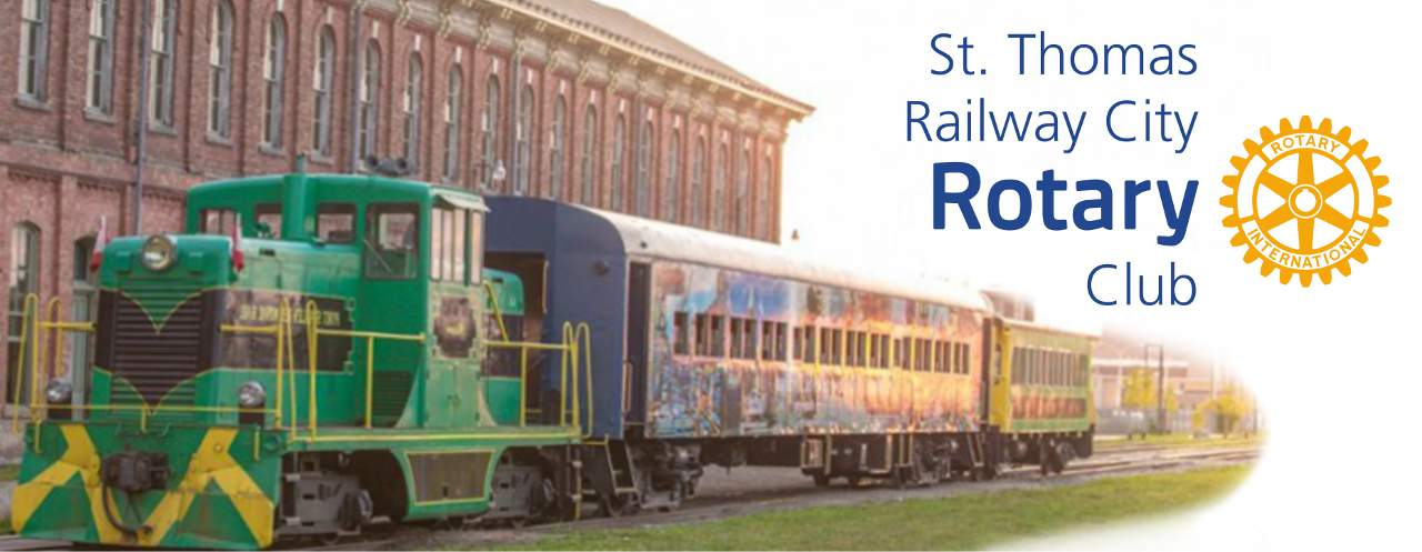St. Thomas Railway City Rotary Club Banner